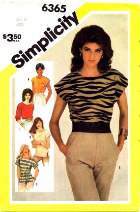 Simplicity 1983 6365