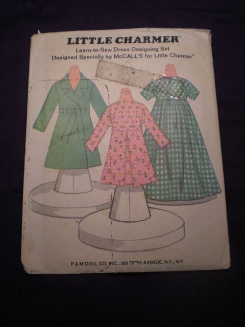 McCall's Little Charmer Dress Designing Set image
