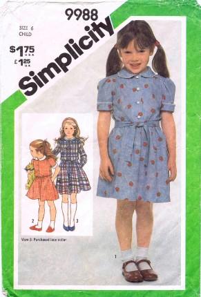 Simplicity 1981 9988