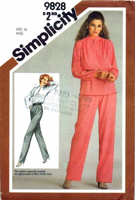Simplicity 1980 9828
