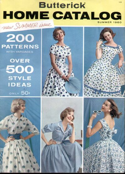 Butterick 60 Front Cover
