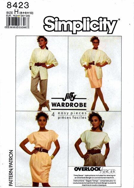 Simplicity 1987 8423