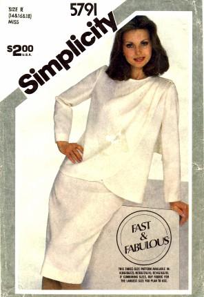 Simplicity 1982 5791