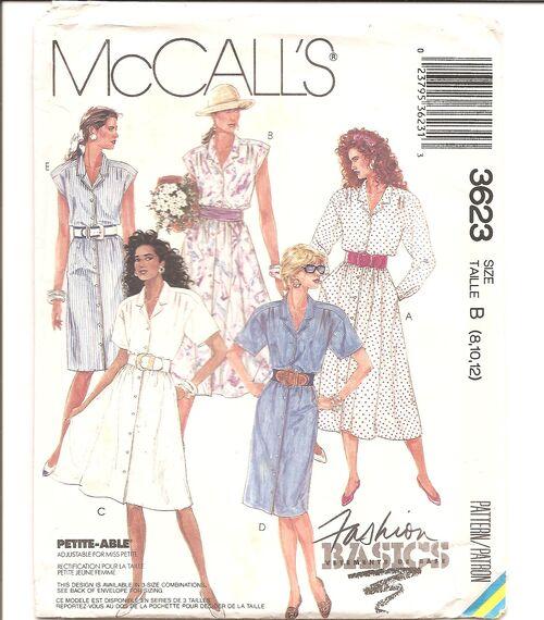 McCalls 3623