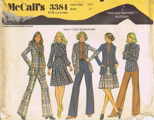 McCalls 1972 3384