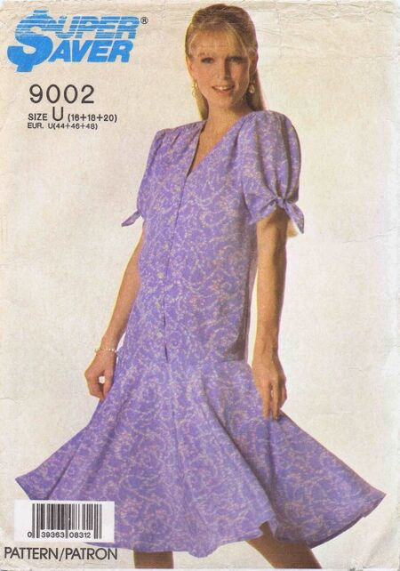 Simplicity 1988 9002