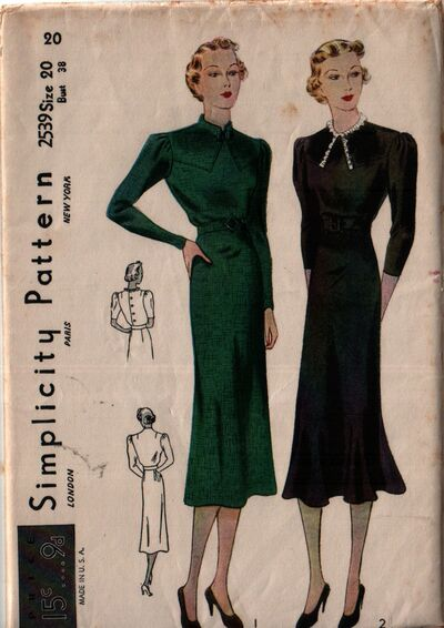 Simplicity 2539 front