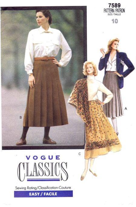 Vogue 1989 7589