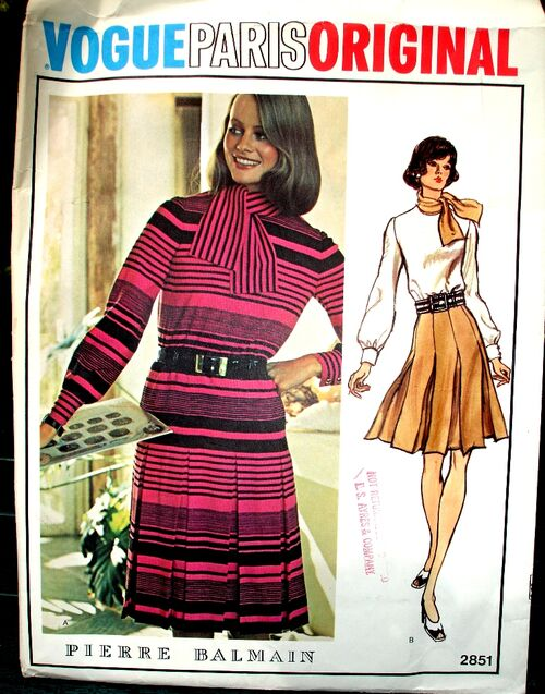Vogue 2851 Paris Original image