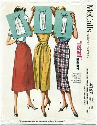 McCalls 1957 4167
