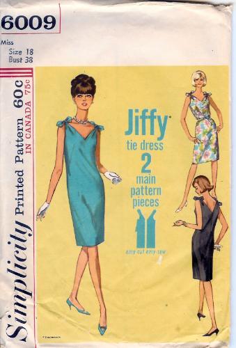 6009S 1965 Dress