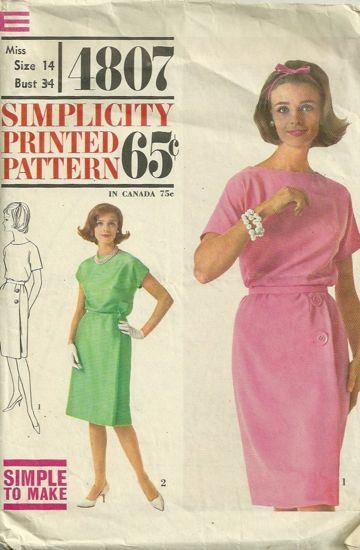 Simplicity 4807B