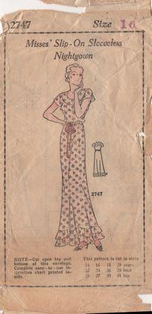 Misses sleeveless slip on nightgown