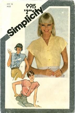 Simplicity 9915 A