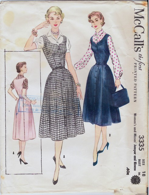 1950's McCall's 3335 front