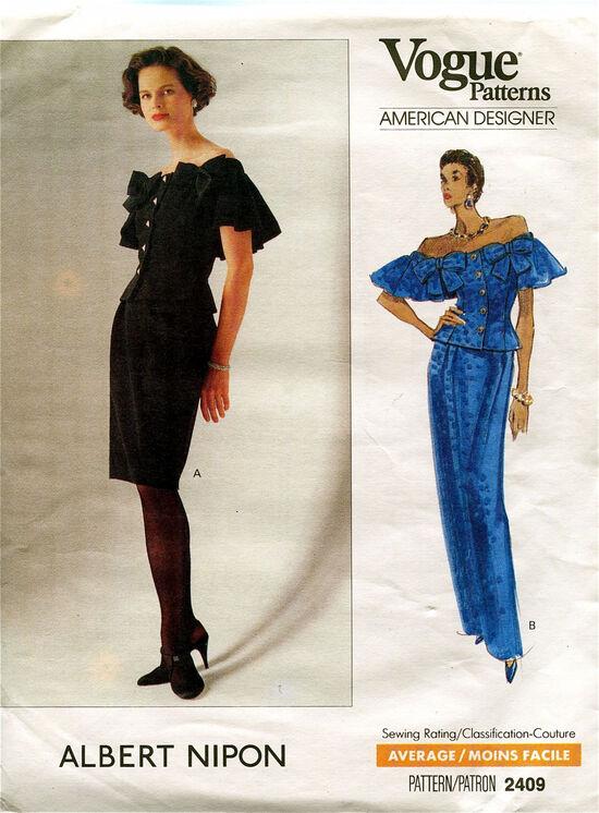 Vogue 2409 at Design Rewind Fashions on etsy