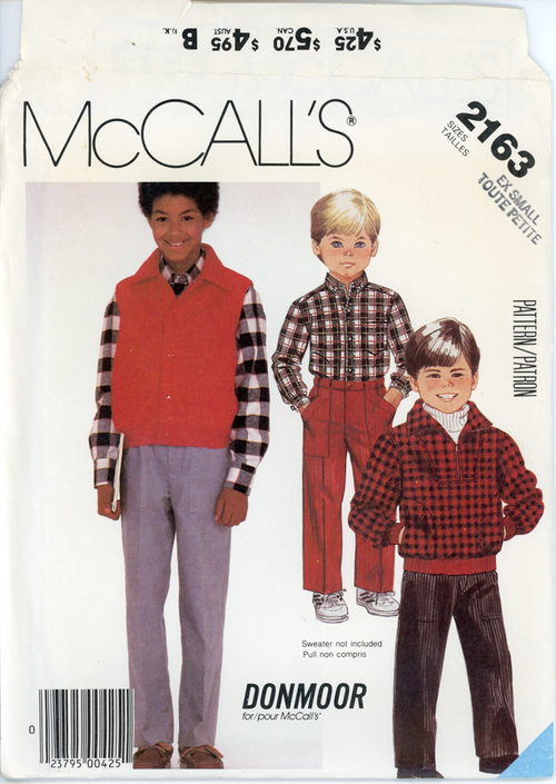 McCall's-2163front