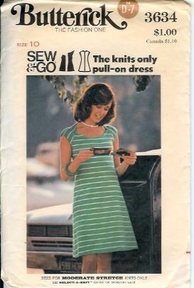 3634B 1970s Dress