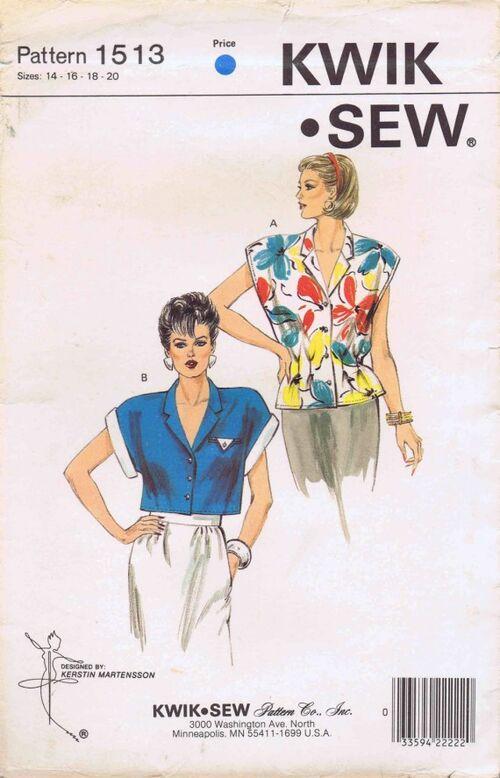 Kwik Sew 1986 1513