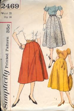2469S 1958 Skirt