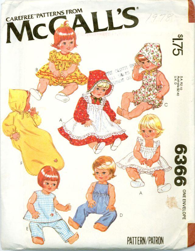 McCalls 6366