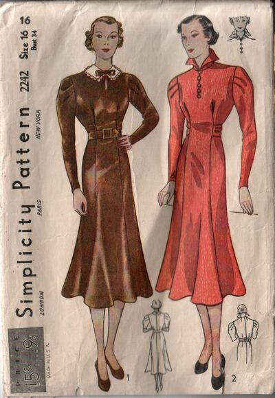 Simplicity 2242 front