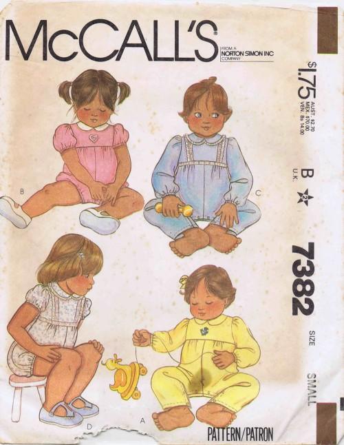 McCalls 1980 7382