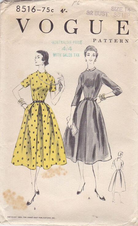 Pattern - Vogue 8516 02