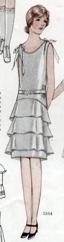 McCall 5344 1928 Teen