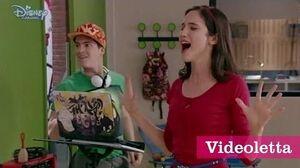 "Violetta 3 English Fran sings ""Anything can happen"" (""Aprendi adecir adios"") Ep"