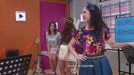 Las chicas y martina canta Nel Mio Mondo