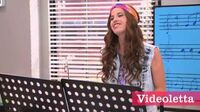 "Violetta 2 English - Camila sings ""Paso El Tiempo"" (""Go back in time"")"