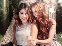 Tini and Cande