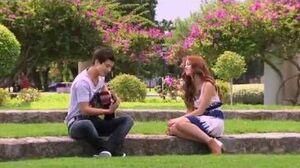 """Violetta 2 English - Seba sings """"Back in love"""" (Paso el tiempo) - episode 68"""