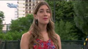Violetta 2 - Angie sings - I can see it in your eyes (Verte de lejos) English - Episode 35
