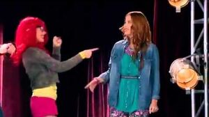 Violetta 3 Roxy, Camila and Fausta sing A Mi Lado (By My Side) - English