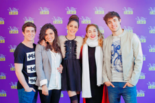 Facu, Alba, Tini, Mechi, Jorge