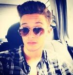 Ruggero with sunglasses on