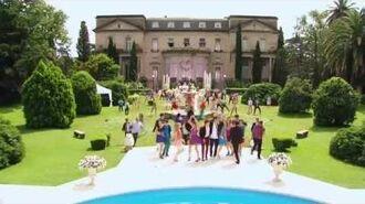 """Violetta 3 Violetta y elenco cantan """"Crecimos juntos"""" Final Scene English Subtitles"""