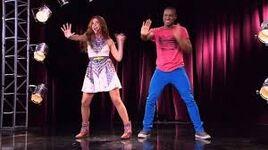 Camila and Broduey dancing