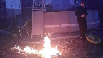 William Shoots And Burns His Old Xbox One