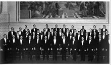 1962 glee club group photo
