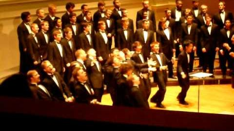 The Virginia Glee Club - Manly Men - Family Weekend '08