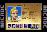 Sarah Bryant Arcade Profile