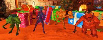 DLC-Santa Figurines