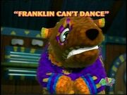 FranklinCantDance