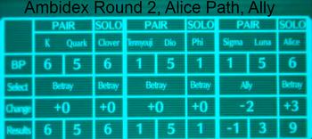 Alice path R2