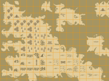 Map geological