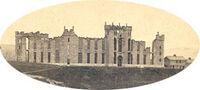 VMI Burning 1865