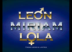 Leon Miriam Lola logos together